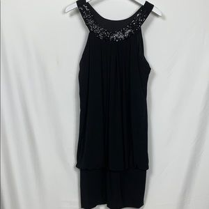 Studio 1940 size 16 black sleeveless top